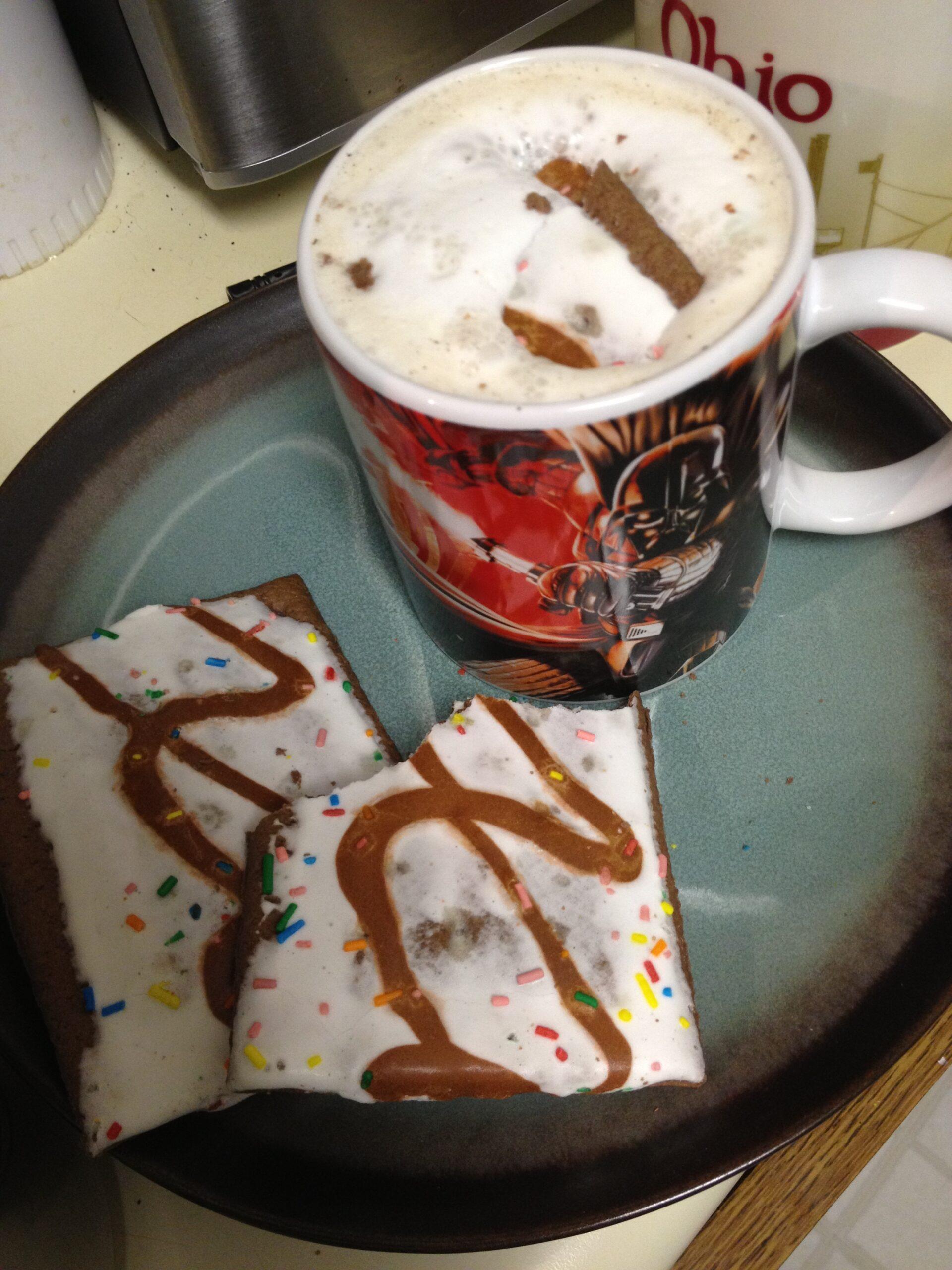 Thor's Hot Fudge Sundae Poptart Latte Recipe