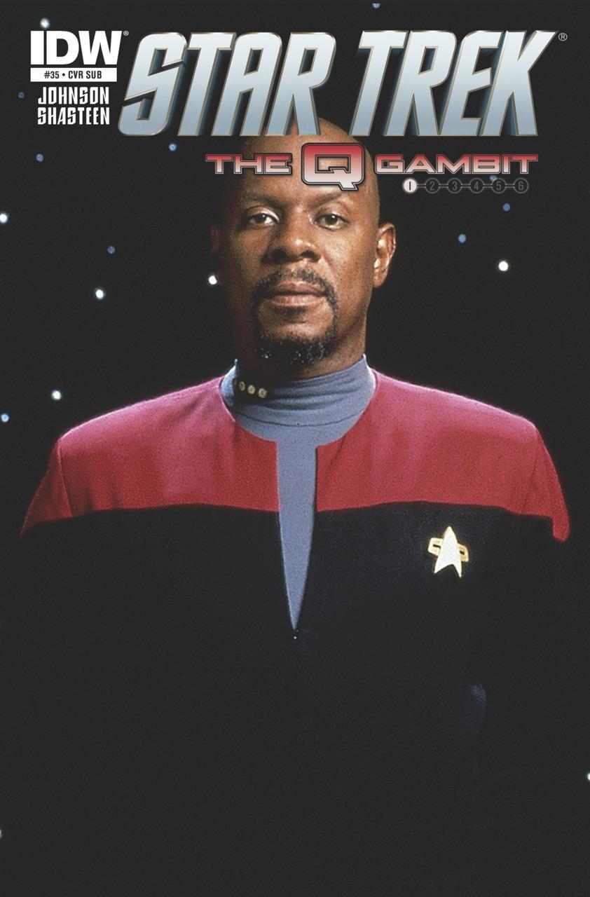 Review: IDW's Star Trek #35: The Q Gambit