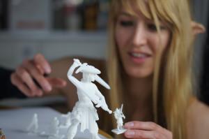 Margaret Dost, 3D Modeler of Hero Forge