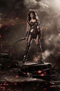Wonder Woman in her heels.