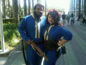 First cosplay - Vault 101 - Fat and Nerdy Cosplay
