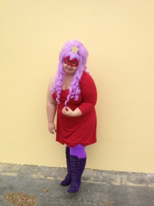 LSP Cosplay - Fat and Nerdy