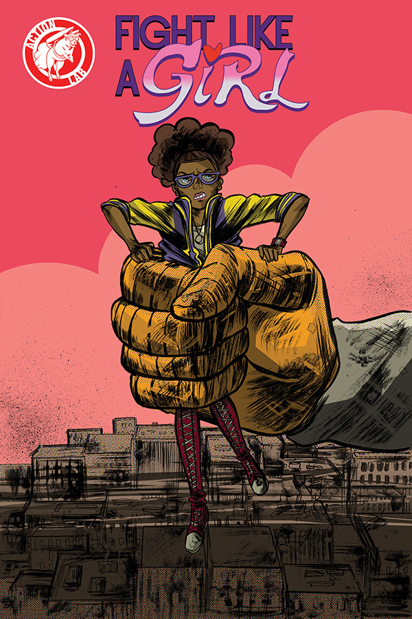 Comic Book Review: Fight Like A Girl, Issue #2
