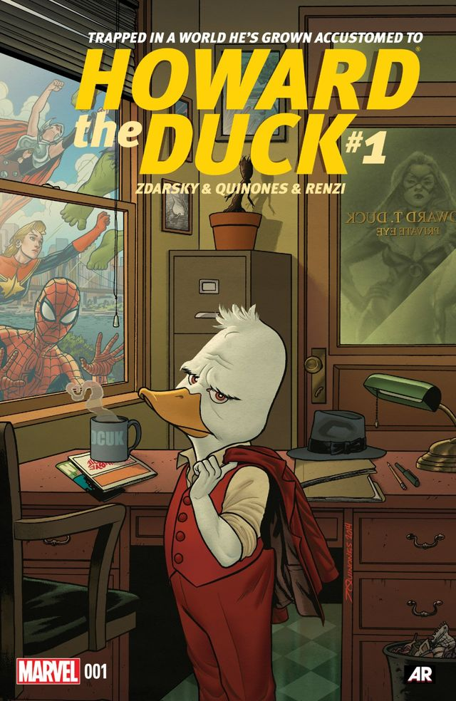 Webheads and Webbed Toes: a review of Spider-Gwen #2 and Howard the Duck #1