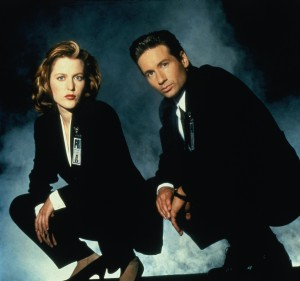 The-X-Files-mulder andscully