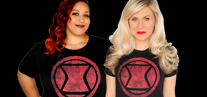 The Black Widow Shirt You've Been Waiting For PLUS Contest