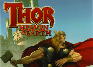 Thor Heaven & Earth - Cover art by Ariel Olivetti