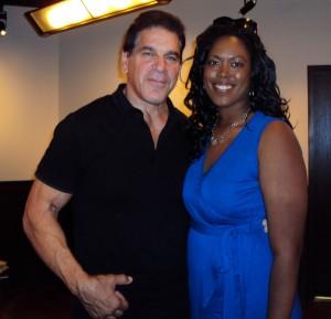 Lou Ferrigno with Jill