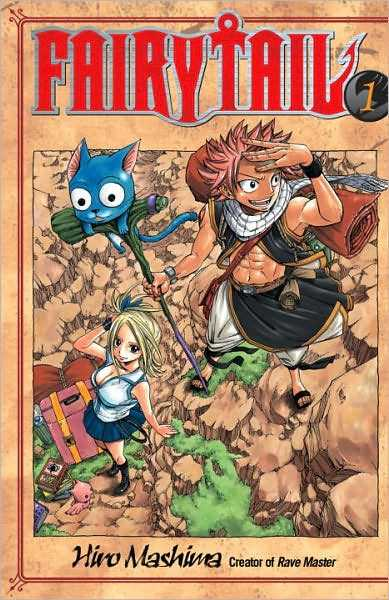Manga Review: Fairy Tail, Chapter 1