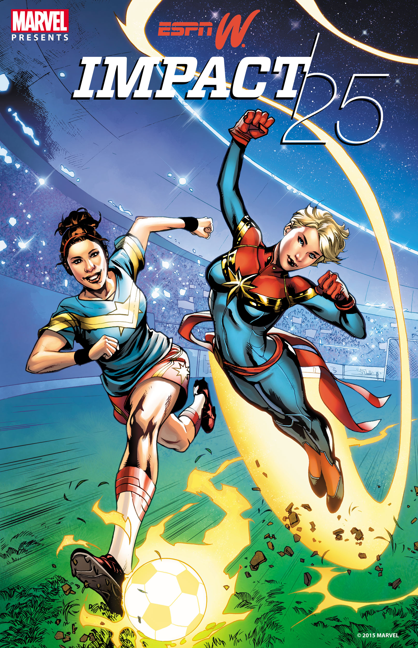 Marvel and espnW Team Up to Honor Real Sports Heroes