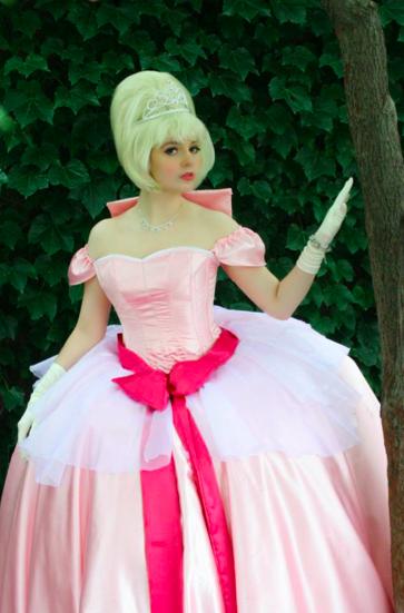 Charlotte La Bouf from Princess and the Frog at Anime Iowa 2014 (Charlotte 2) Photographer: Jade Thomas