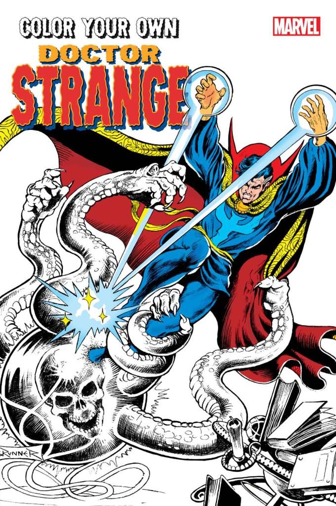 Color Your Own Doctor Strange - Marvel.com