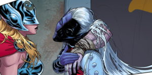 """Malekith's hair is """"off-putting, and it slithers around behind him."""""""