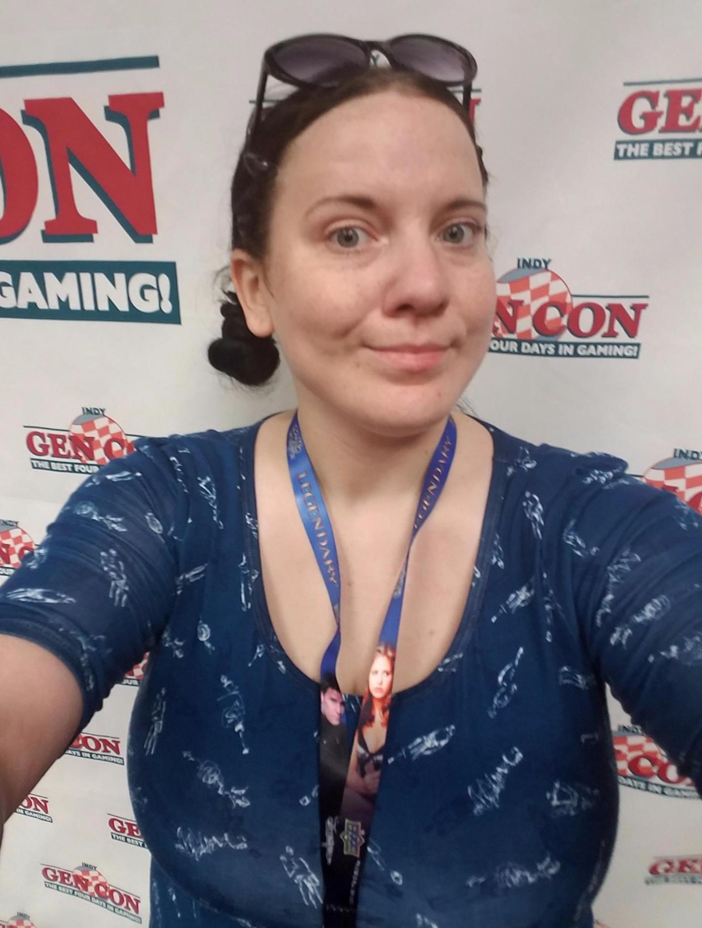 Selfie in the Press Room!