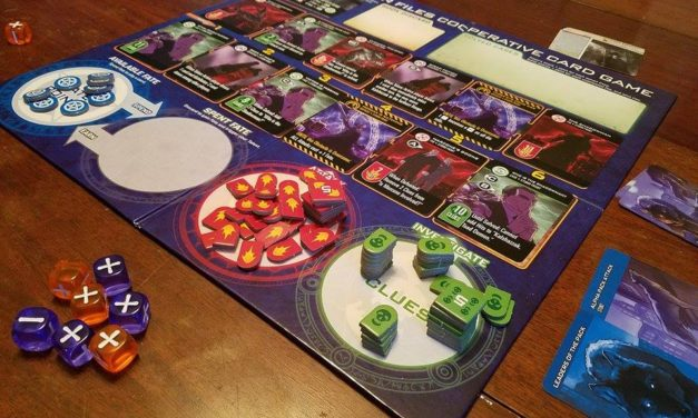 Board Game Review: Evil Hat Productions' Dresden Files Cooperative Card Game