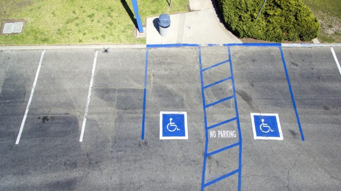 Parking for drivers with disabilities