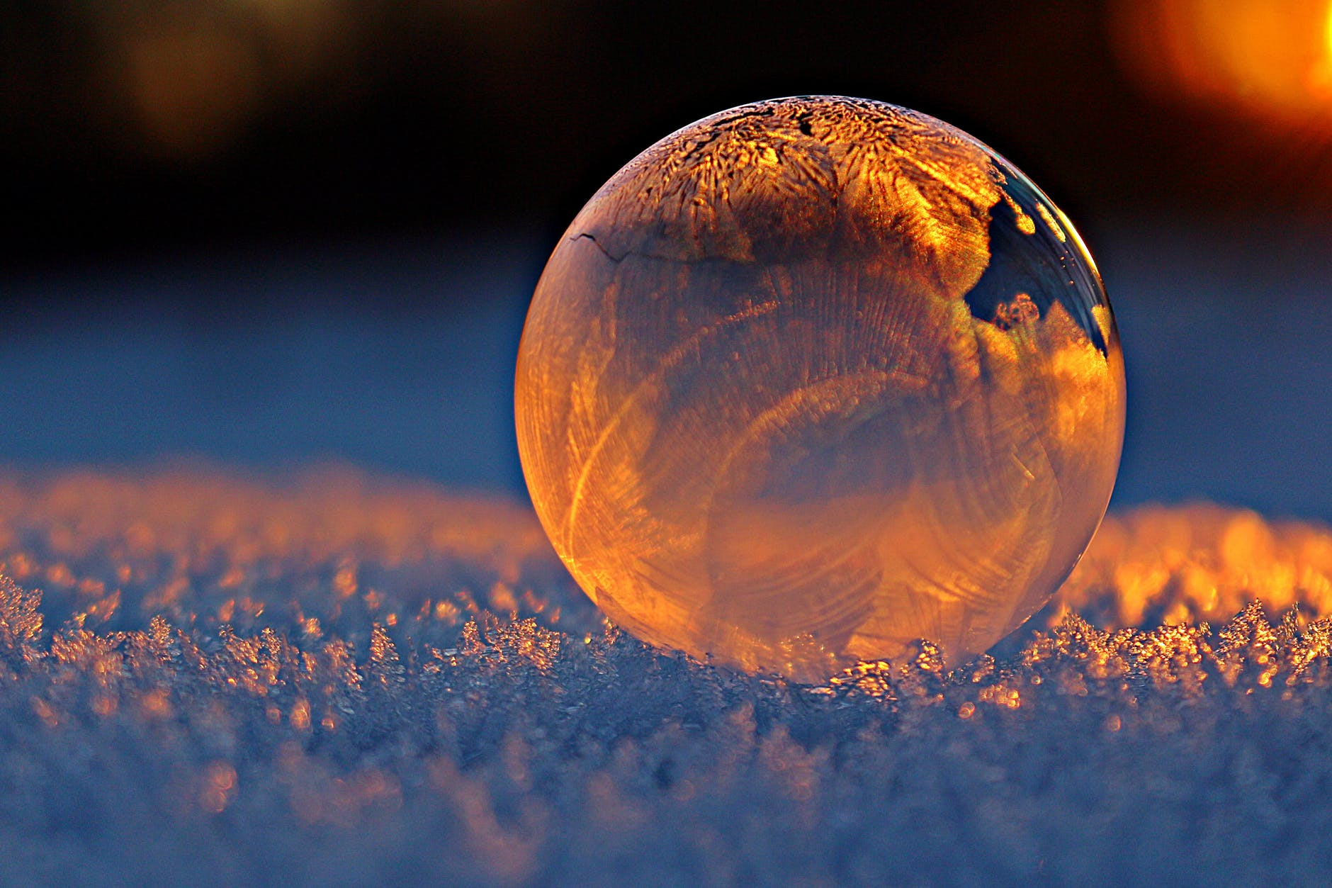 Yule Globe