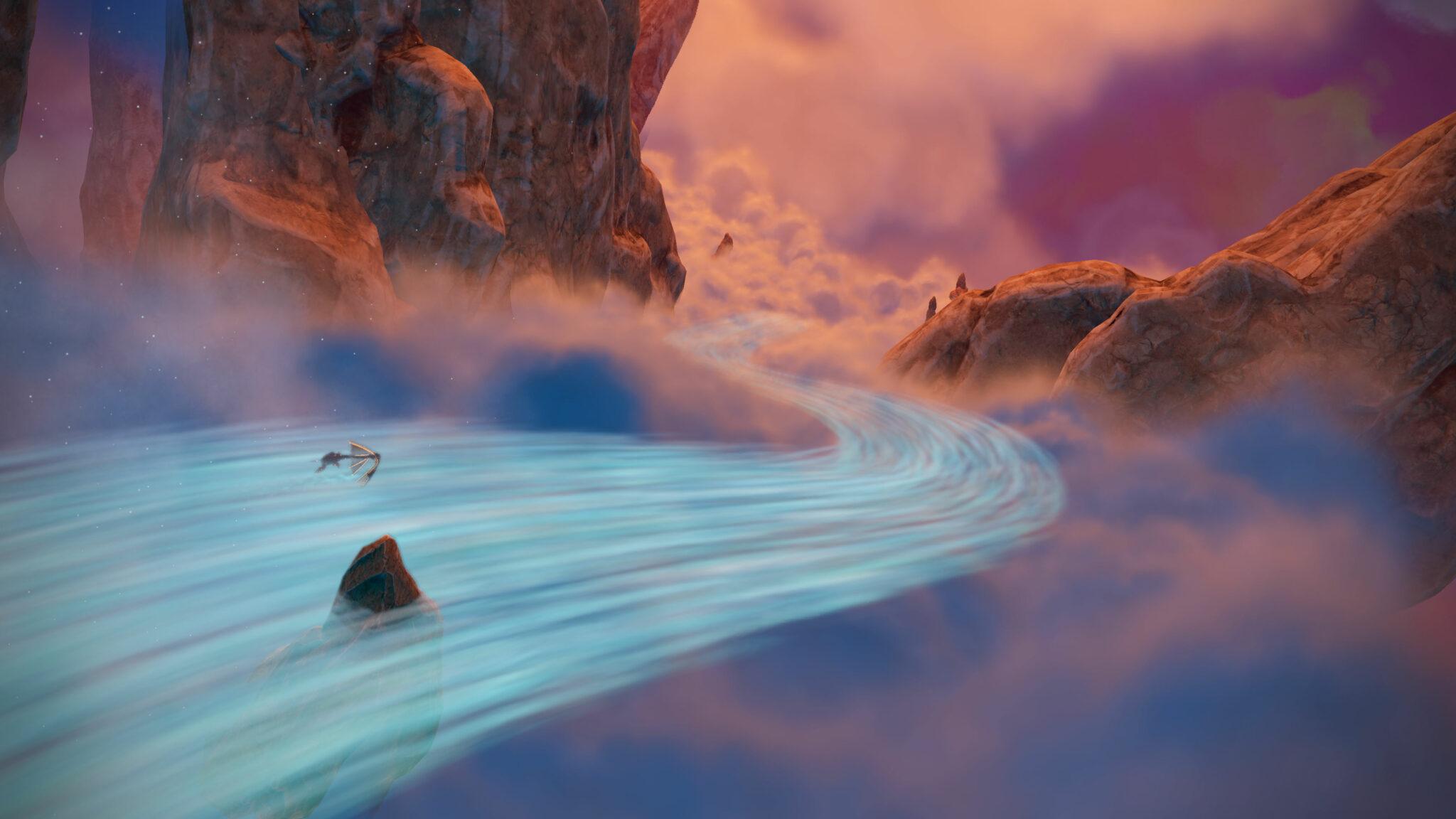 nebula river