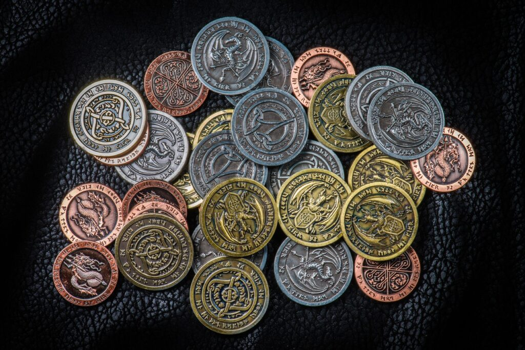 larp coins